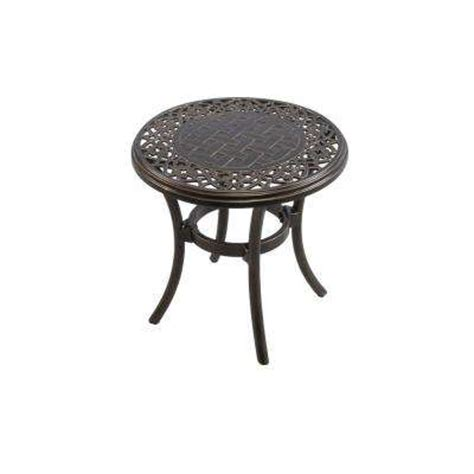 Plastic Outdoor Dining Chairs Outdoor Side Tables Patio Tables The Home Depot