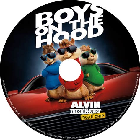 Alvin Also Search For Alvin And The Chipmunks The Road Chip Dvd Labels 2015 R0 Custom