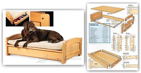 dog bed plans dog bed plans woodarchivist