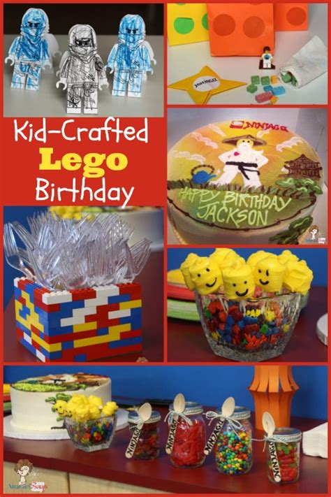Last Day For Christmas Decorations Kid Crafted Lego Ninjago Birthday Party Atta Says