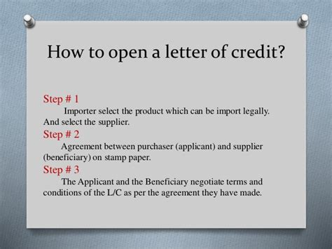 Yes Bank Letter Of Credit How To Open Letter Of Credit