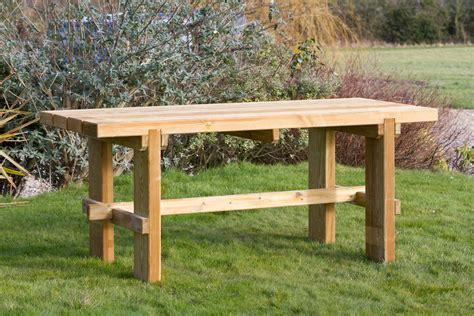 wooden outdoor table wooden garden table garden furniture land