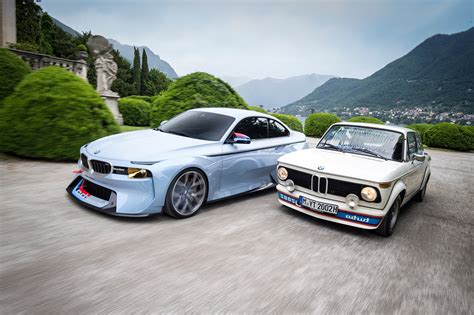 bmw concept 2002 bmw 2002 hommage concept meets the bmw 2002 turbo