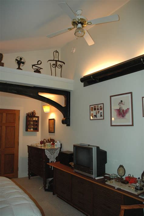 Ceiling Shelf by Vaulted Ceiling Shelf Decorating Ideas Images