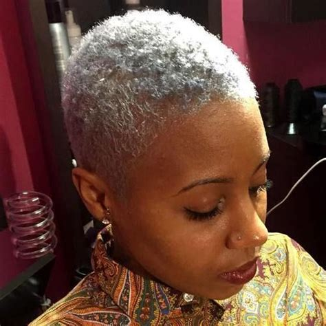 tapered afro for women grey 78 best images about mohawk in short sassy on pinterest