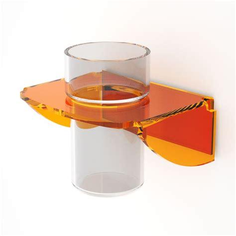 Bicchieri In Plexiglass Porta Bicchiere Da Parete Plexiglass Dea Petrozzi Idfl