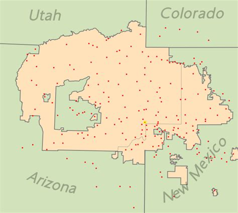 tsaa map navajo ethnic and bentley s am1212 february 2011