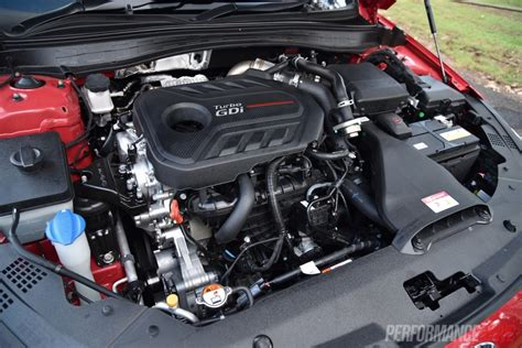 Kia Turbo Engine 2016 Kia Optima Gt Turbo Review Performancedrive