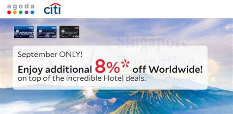 agoda credit card promotion 2017 agoda 8 off worldwide hotels for citibank cardmembers