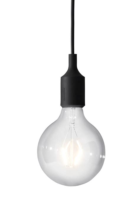 Le Mehrere Glühbirnen by Nackte Fassung Mit Gl 252 Hbirne Quot E27 Quot Muuto