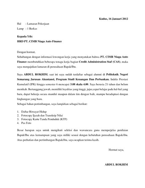 contoh surat lamaran kerja bank bri 2014 28 images the world s