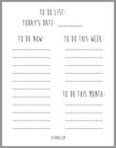 neverending to do list printable to do list printable printables pinterest planners