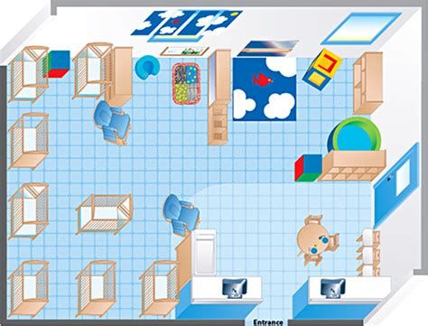 toddler room floor plan an environments infant room