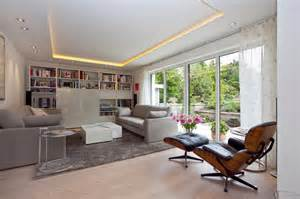 wohnzimmer architektur renovierung 50er jahre haus modern wohnzimmer