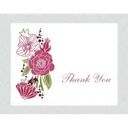 flower thank you cards style 556 whimsicalprints