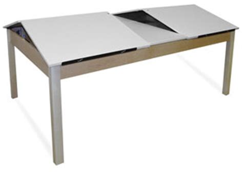Artists Table by Hann Four Station Drawing Table Blick Materials