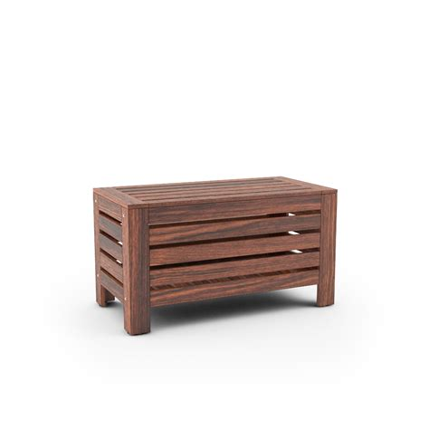 bench with storage ikea free 3d models ikea applaro outdoor furniture series