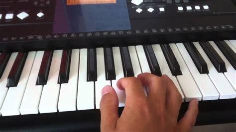 tutorial piano danza kuduro tuto piano jouer danza kuduro de lucenzo youtube