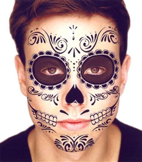 henna tattoo zum aufkleben mens day of the dead makeup mugeek vidalondon