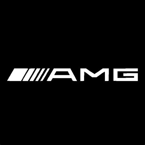 mercedes amg logo amg logo vinyl decal car window sticker mercedes benz