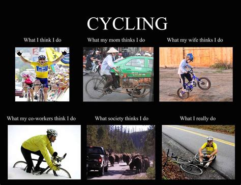 Cycling Memes - bike humour cycling meme cycling pinterest humour