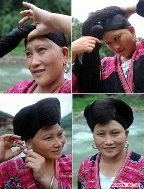 hair show in te pueblo con mujeres con el pelo mas largo del mundo taringa