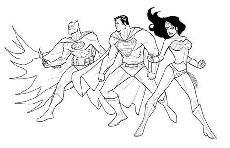 justice league printable coloring sheets coloring pages