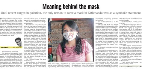 behind meaning the kathmandu post