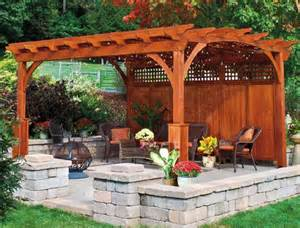 triyae pergola backyard america various design