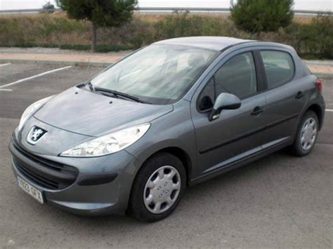 peugeot grey peugeot 207 used car costa blanca spain second