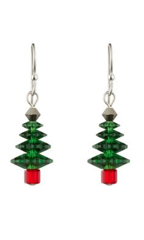 christmas tree earring pattern 1000 images about best craft patterns on pinterest