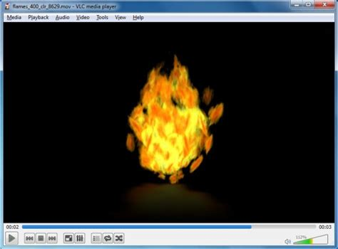 animated flames powerpoint template and clipart