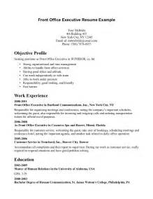 front desk receptionist resume resume template 2017
