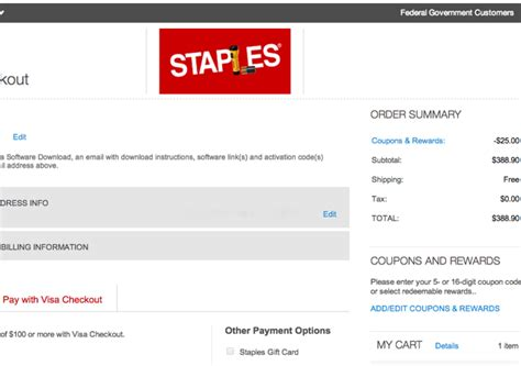 75 Dollar Visa Gift Card - visa checkout 25 off 100 in visa gift cards at staples com travelsort