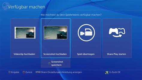 quadrat knopf controller screenshots und mit der ps4 erstellen und auf usb