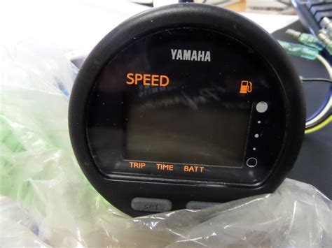 yamaha speedometer digital outboard 6y5 83570 s5 00