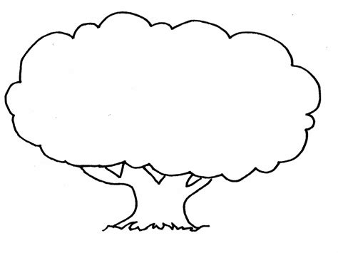 printable tree template free printable tree coloring pages for kids