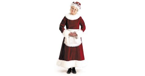 buy mrs claus dress costume
