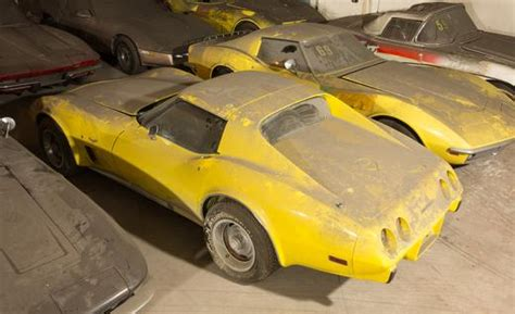 Vh1 Corvette Giveaway - long forgotten corvette collection rediscovered