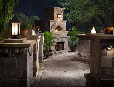 outdoor kitchen designs with pizza oven outdoor kitchen including a pizza oven outside decore