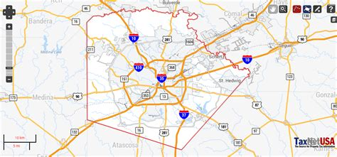 Bexar County Property Records Search Bexar County Property Search And Interactive Gis Map