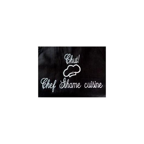cuisine personnalis馥 tablier de cuisine personnalis 233 tablier brod 233 cadeau