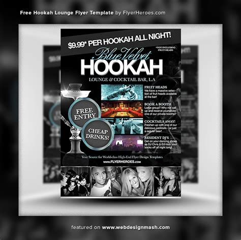 bar flyer templates free 20 new free club flyer templates website design