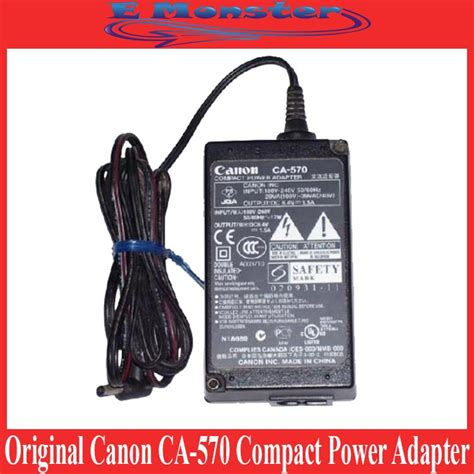 Compact Power Adapter Ca 570 original canon ca 570 compact power end 5 23 2018 4 15 pm