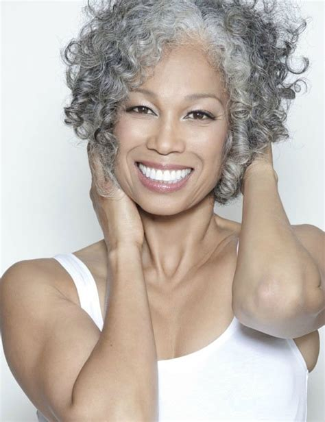 black hairstyles for gray hair 10 of our favorite black women with grey hair gray hair