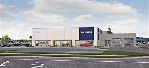 giles automotive building  million volvo dealership