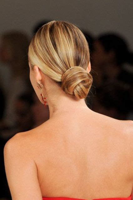 chic  bun hairstyles   bride crazyforus
