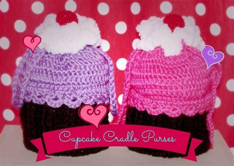 crochet pattern cupcake purse pin crochet cradle purse pattern for beginners cake on