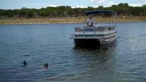 20 ft pontoon boat 95 spectrum 20 ft pontoon boat youtube
