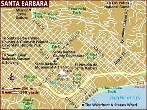 map of santa barbara